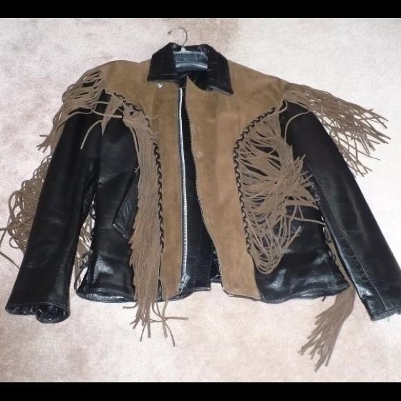 29af3cc2f 50% off! Men's Leather and Suede Jacket, Size 40